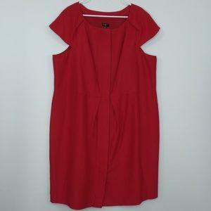 TALBOTS Silk Blend Sheath Dress